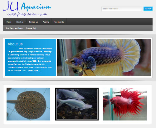 JUaquarium-wordpress